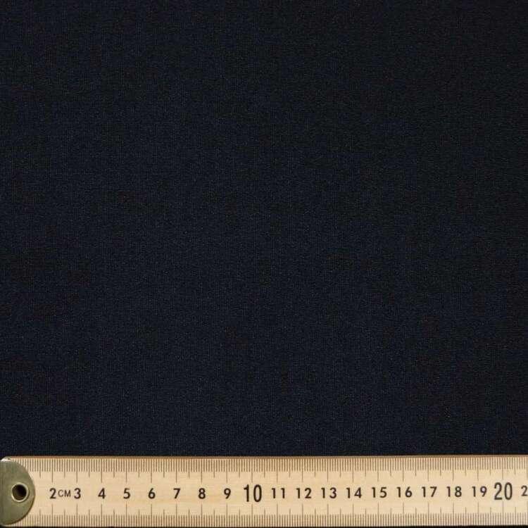 Plain 155 cm Rayon Nylon Spandex Double Knit Fabric