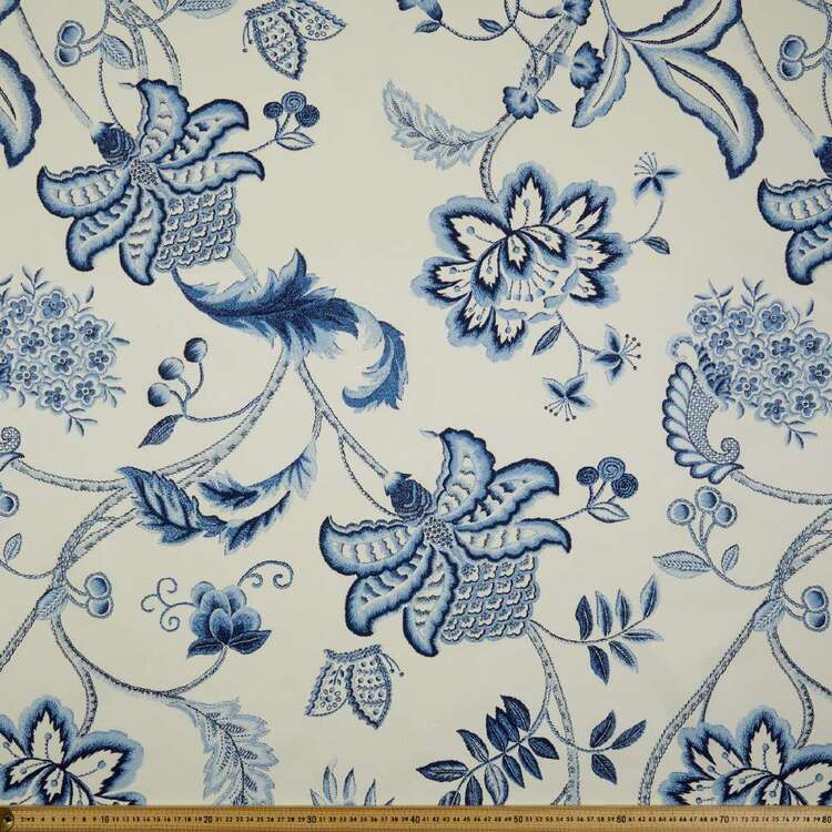 Lancashire Mills Half Panama Paradise Fabric