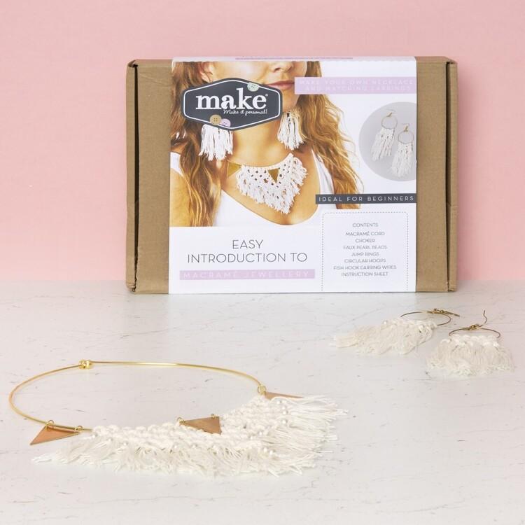 Make Macrame Jewellery Kit