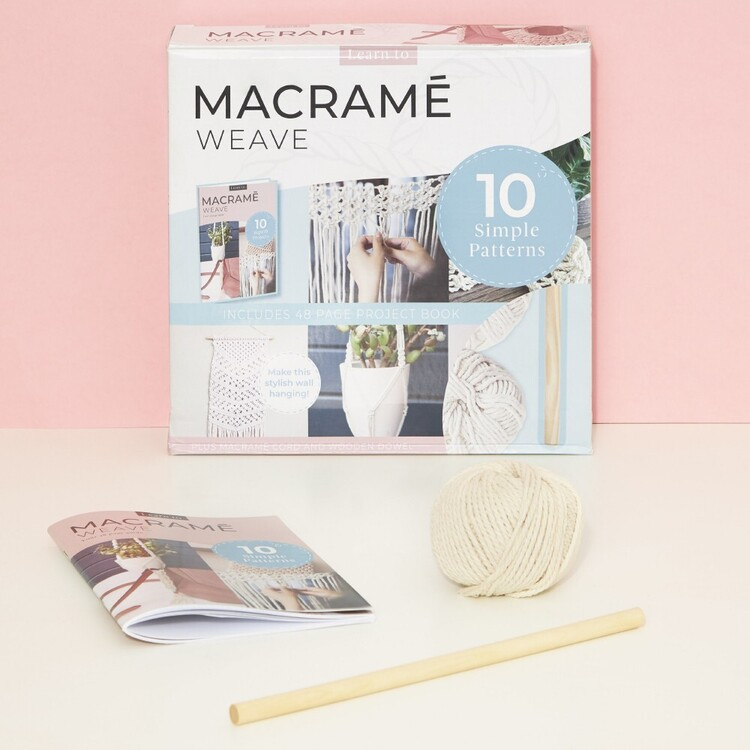 Learn to Macram� Weave Book Box