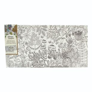 Johanna Basford Enchanted Forest Colour Canvas