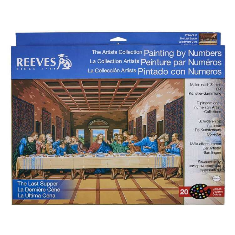 Reeves Large Paint by Numbers Last Supper