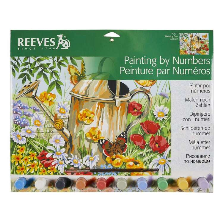 Reeves Large Paint by Numbers Water Can