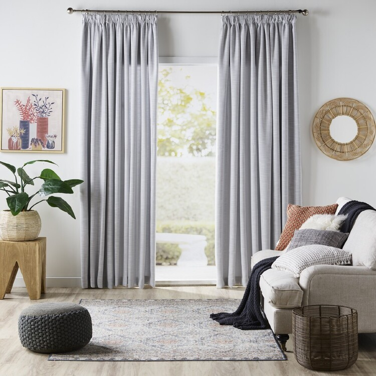Gummerson Oslo Room Darkening Pencil Pleat Curtains