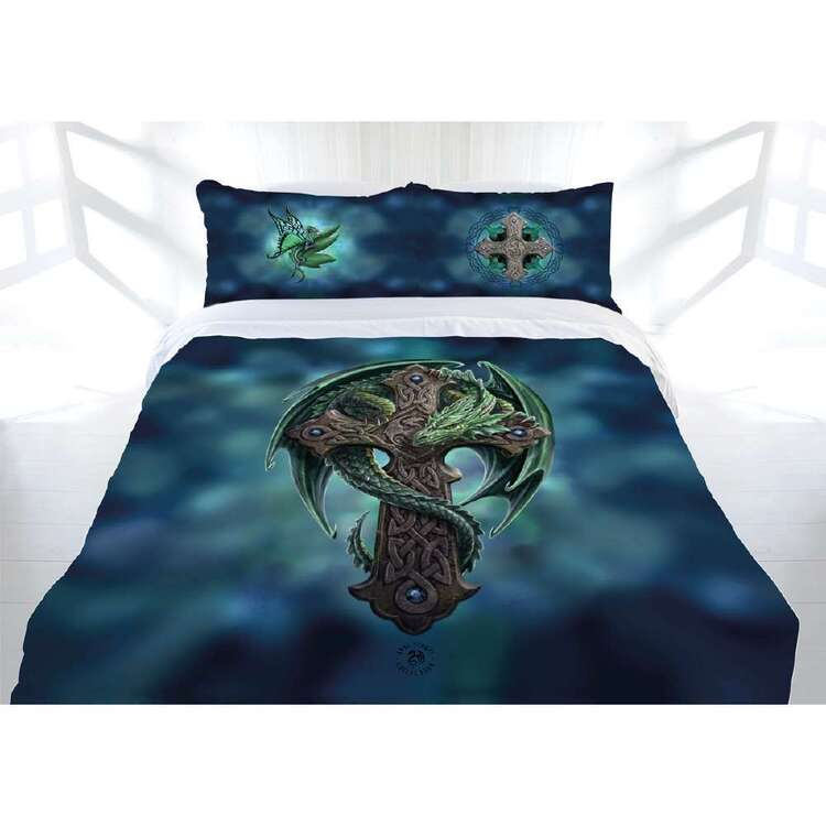 Anne Stokes Woodland Guardian Quilt Cover Set
