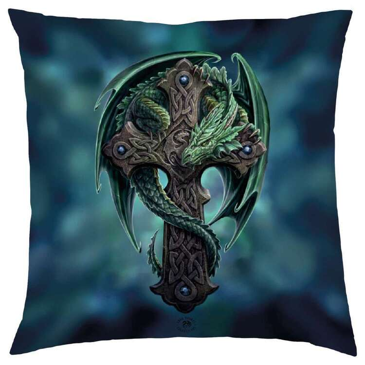 Anne Stokes Woodland Guardian Cushion