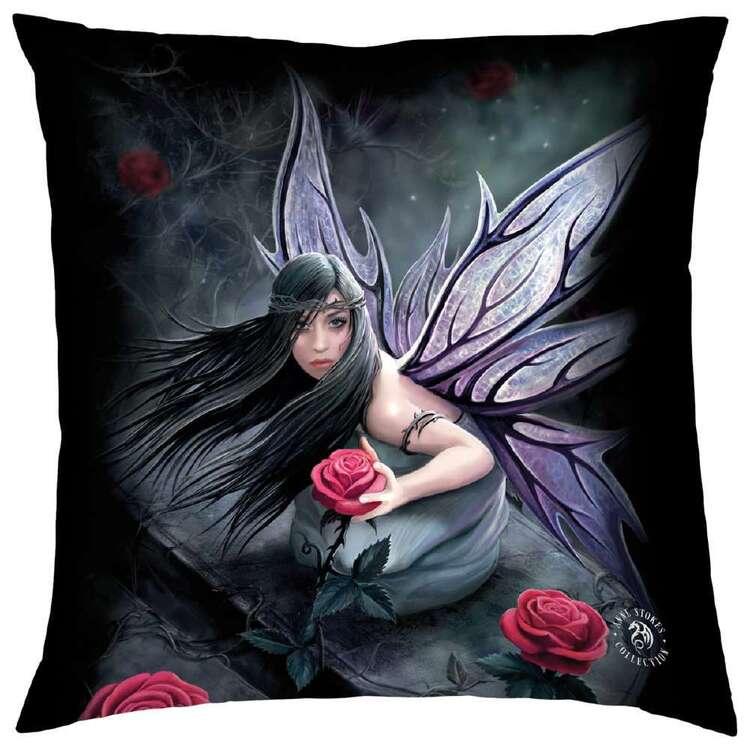 Anne Stokes Rose Fairy Cushion