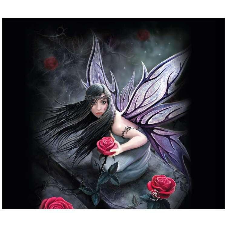 Anne Stokes Rose Fairy Throw
