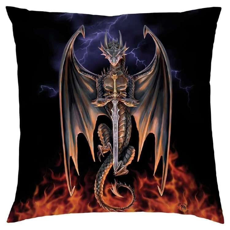 Anne Stokes Dragon Warrior Cushion