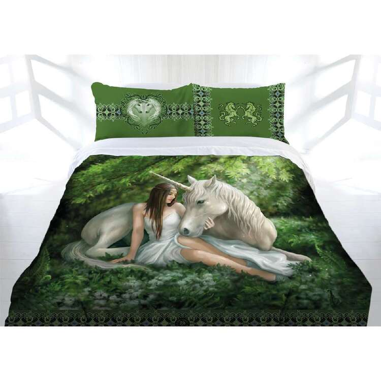 Anne Stokes Pure Heart Quilt Cover Set