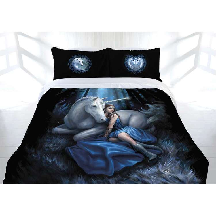 Anne Stokes Blue Moon Quilt Cover Set