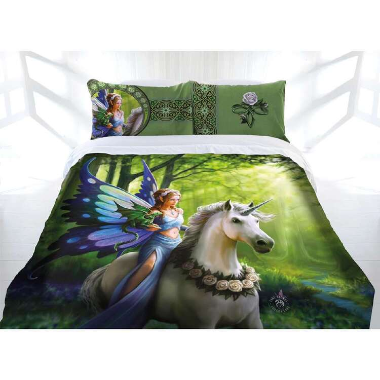 Anne Stokes Realm Of Enchantment Quilt Cover Set