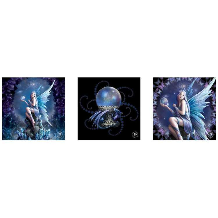 Anne Stokes Stargazer 3 Pack Wall Canvas