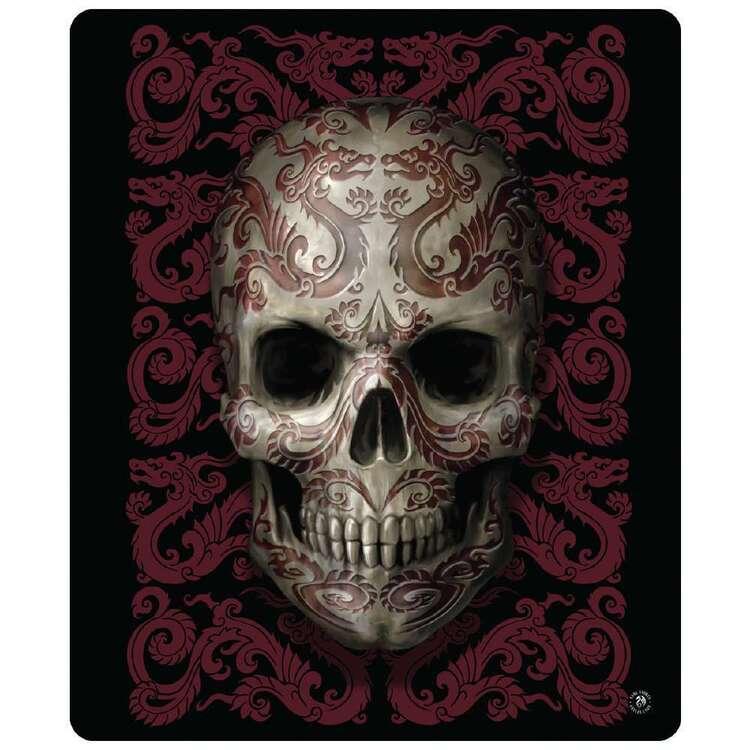 Ladelle Anne Stokes Oriental Skull Throw