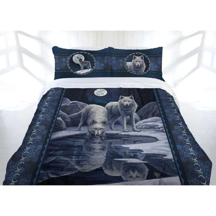 Anne Stokes Warriors Of Winter Quilt Cover Set