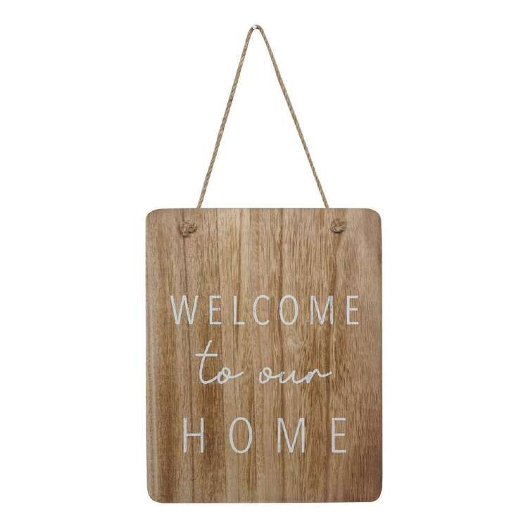 Living Space Home Rectangular Wall Plaque