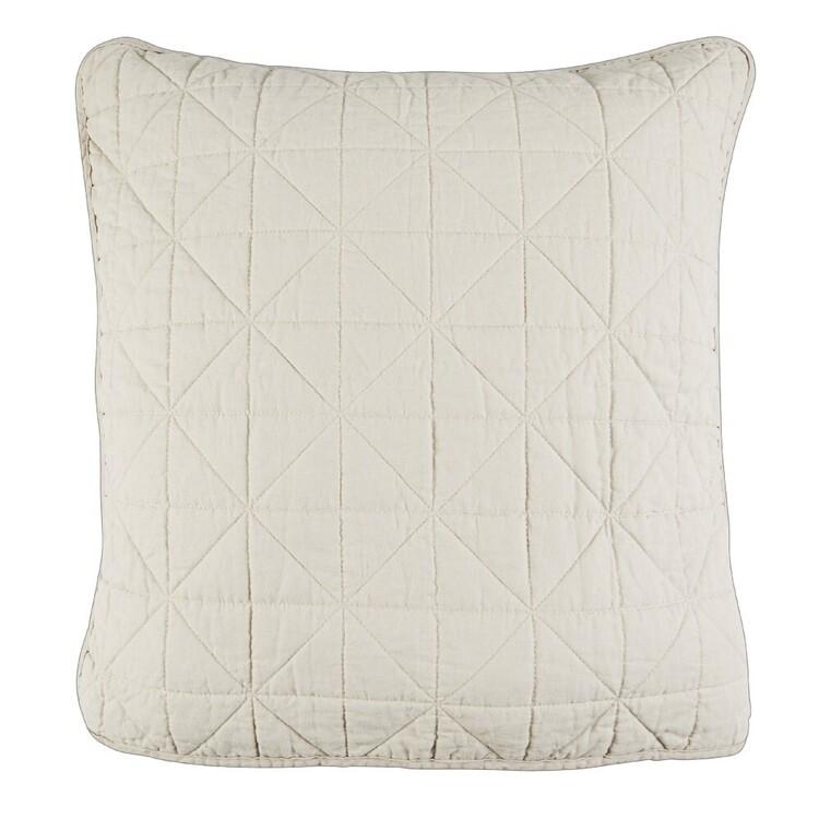 KOO Loft Linen Coverlet European Pillowcase