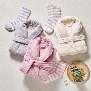 Brampton House Bathrobe & Sock Set