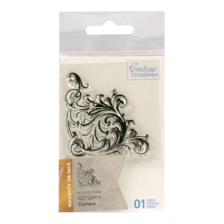Couture Creations Mini Stamp - Cornice