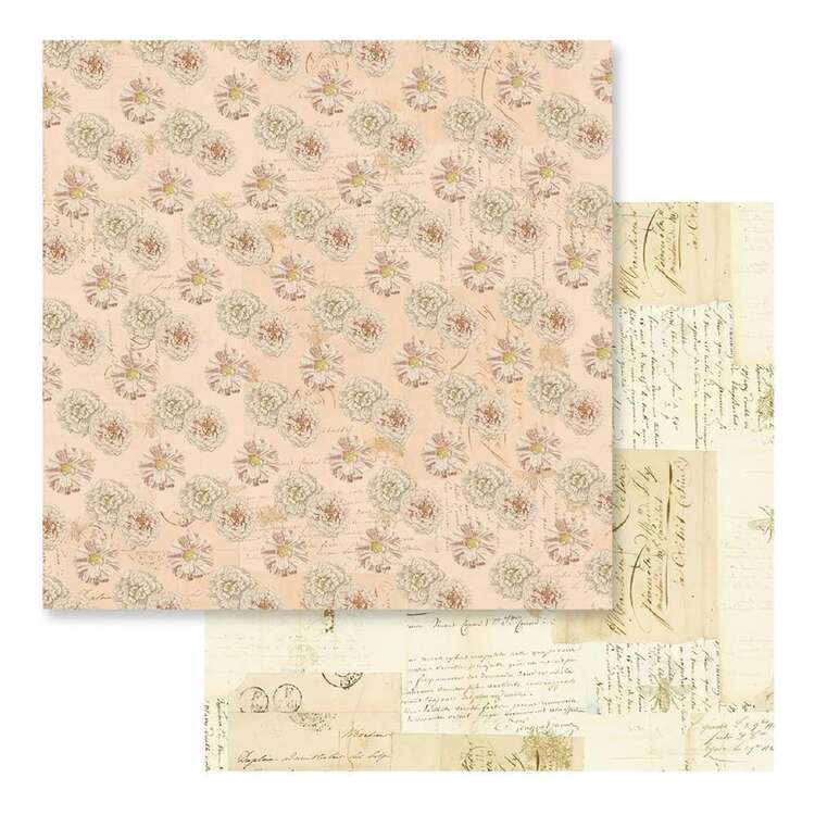 Couture Creations Butterfly Garden #3 Loose Printed Paper