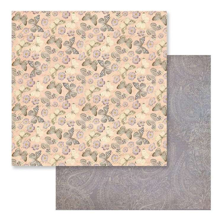 Couture Creations Butterfly Garden #6 Loose Printed Paper