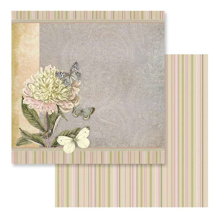 Couture Creations Butterfly Garden #7 Loose Printed Paper
