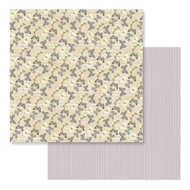 Couture Creations Butterfly Garden #8 Loose Printed Paper