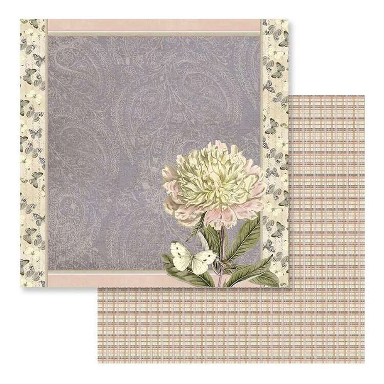 Couture Creations Butterfly Garden #10 Loose Printed Paper