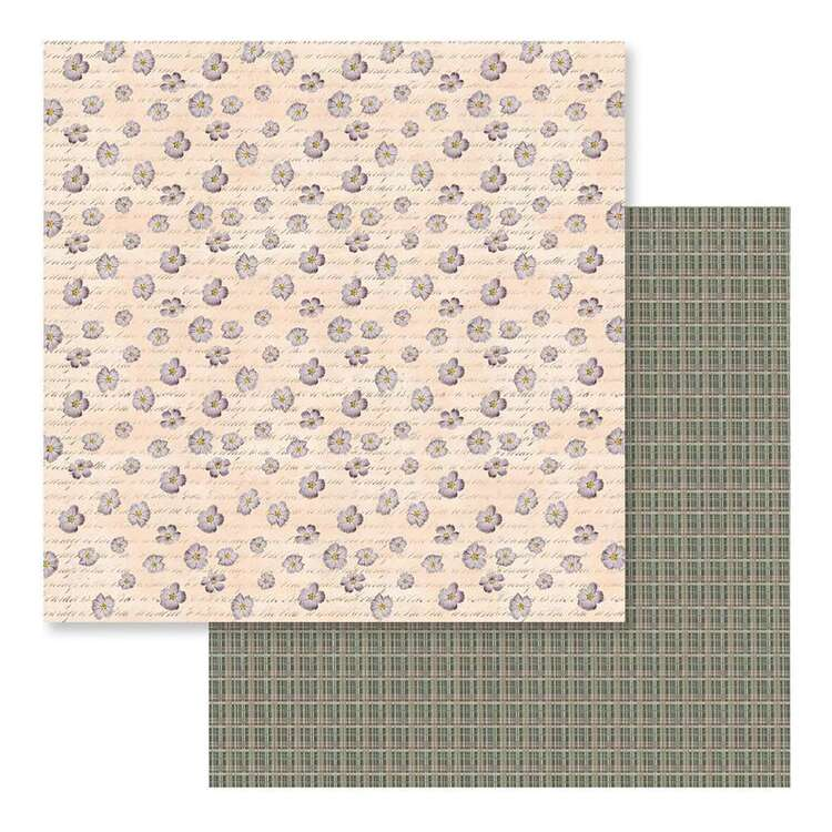 Couture Creations Butterfly Garden #11 Loose Printed Paper