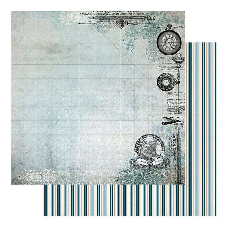 Couture Creations Gents Emporium #1 Loose Printed Paper