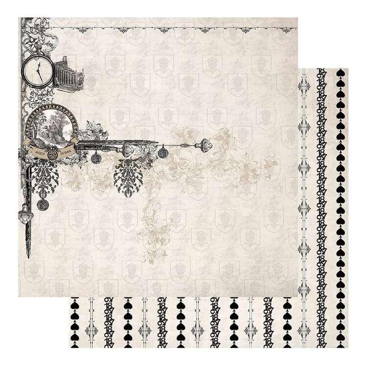 Couture Creations Gents Emporium #2 Loose Printed Paper