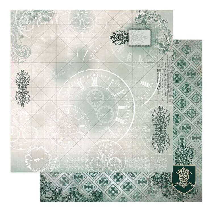Couture Creations Gents Emporium #3 Loose Printed Paper
