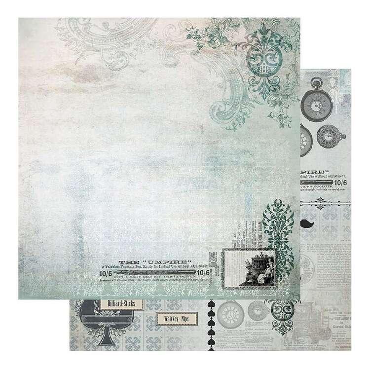 Couture Creations Gents Emporium #4 Loose Printed Paper