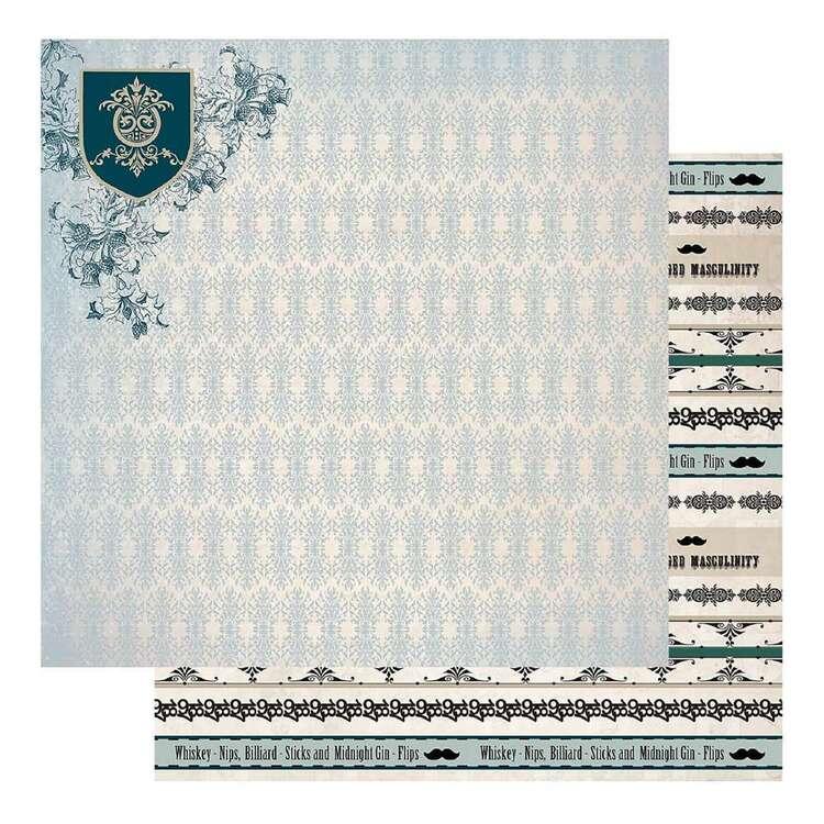 Couture Creations Gents Emporium #7 Loose Printed Paper