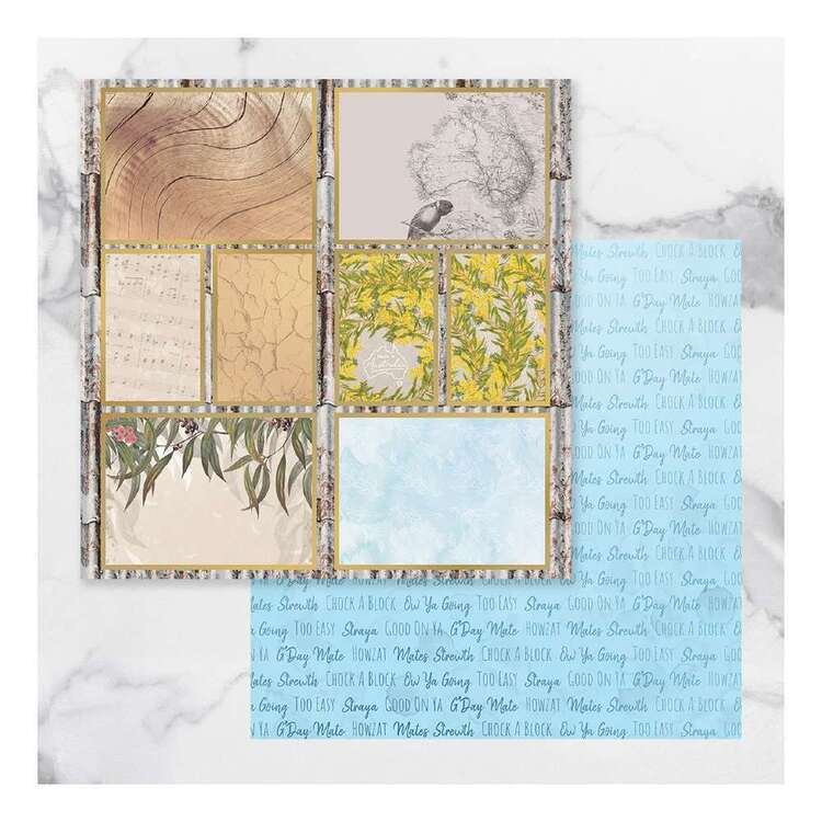 Couture Creations Sunburnt Country #11 Paper Pack
