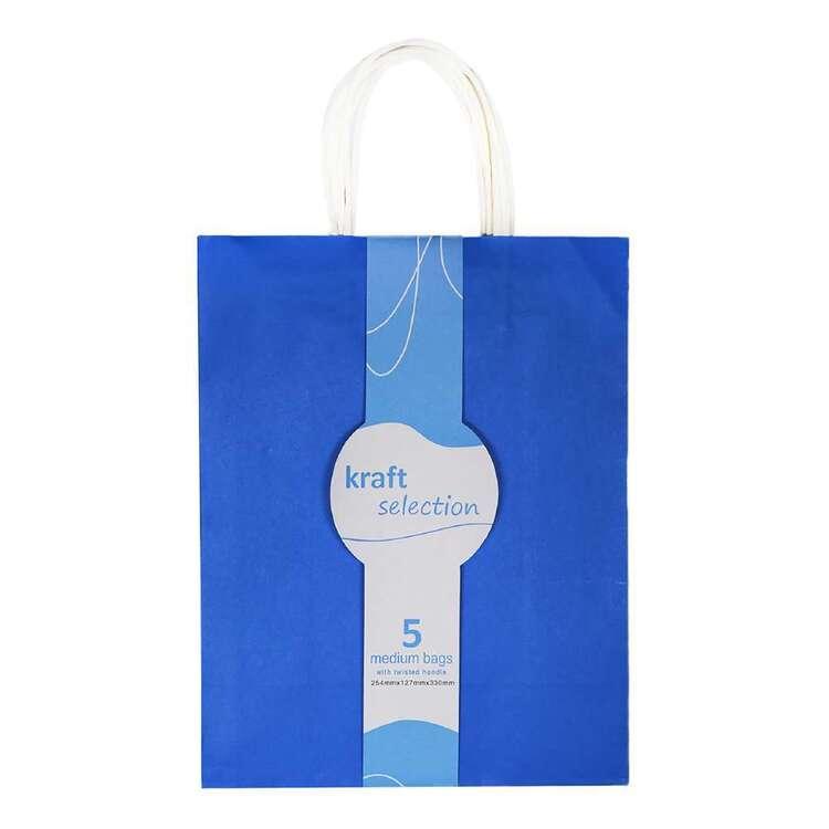 Kraft Bags 5 Pack