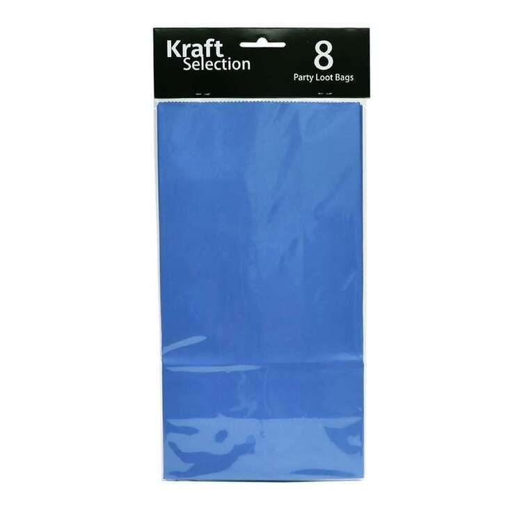 Kraft Loot Bags 8 Pack