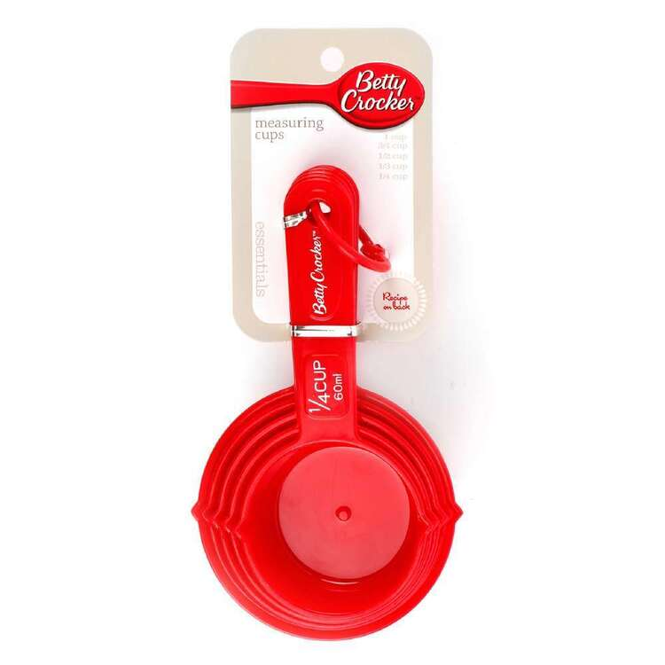 Betty Crocker Measuring Cups 5 Pack