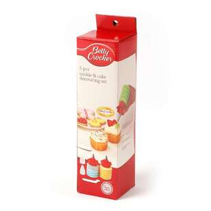 Betty Crocker Cookie & Cake Decorating Set 5 Pack
