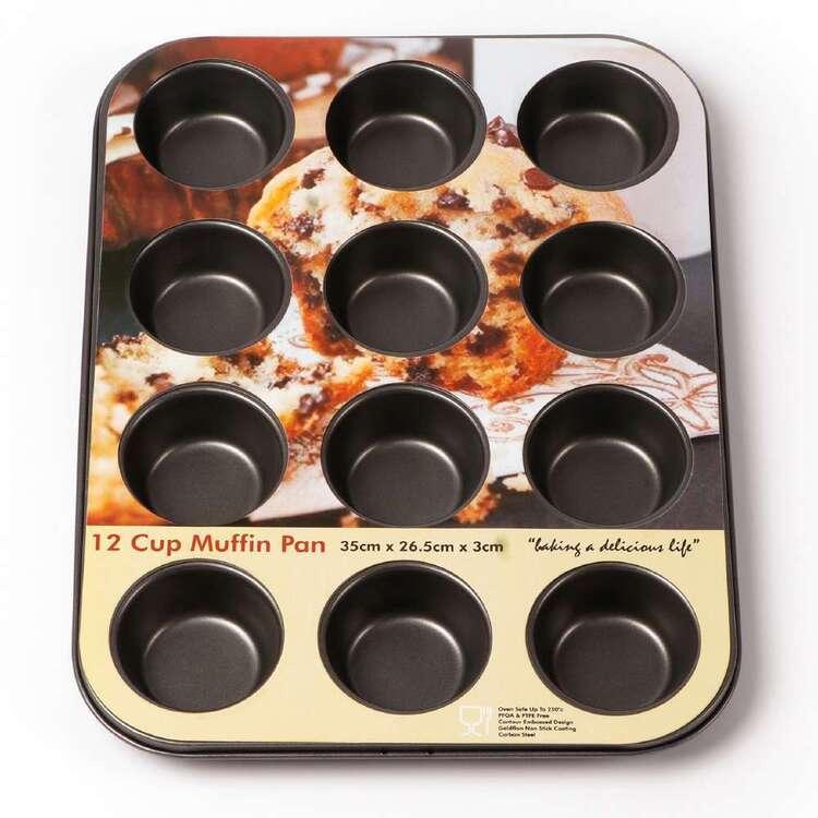 Tin Bakeware 12 Cup Cake Pan