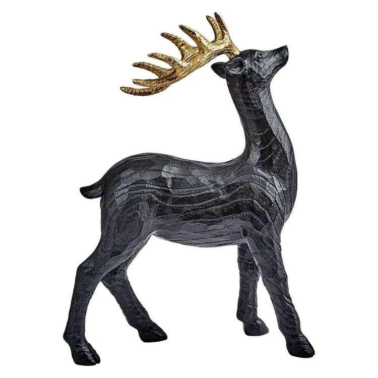 Bouclair Dazzling Velvet Deer Ornament