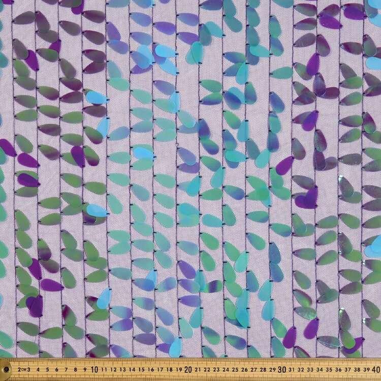 Plain Sequin Tulle Fabric