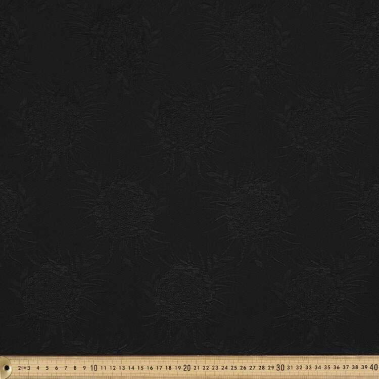 Plain 142 cm Elastane Jacquard Fabric
