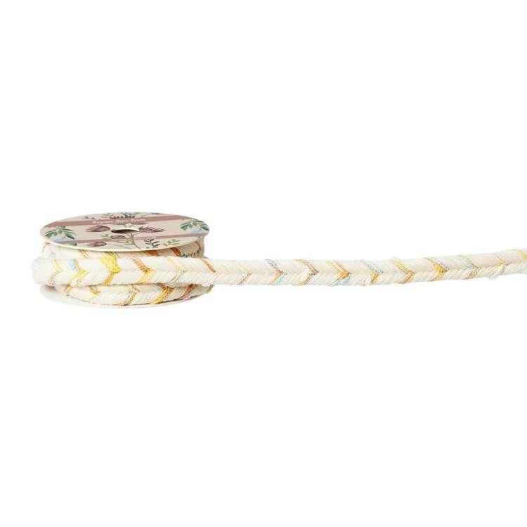 Multicoloured Cord Ribbon