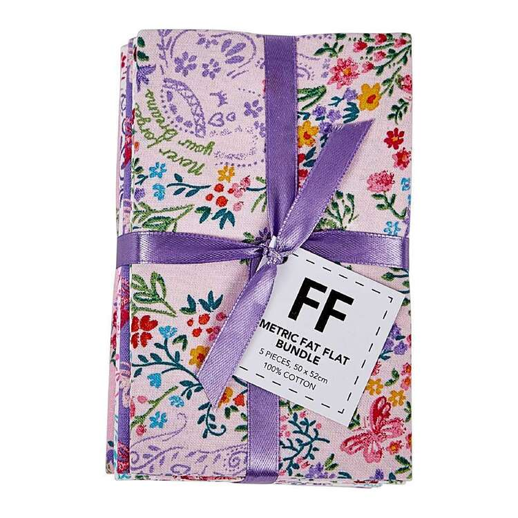Never Forget Your Dreams Fat Quarter Bundle Multicoloured