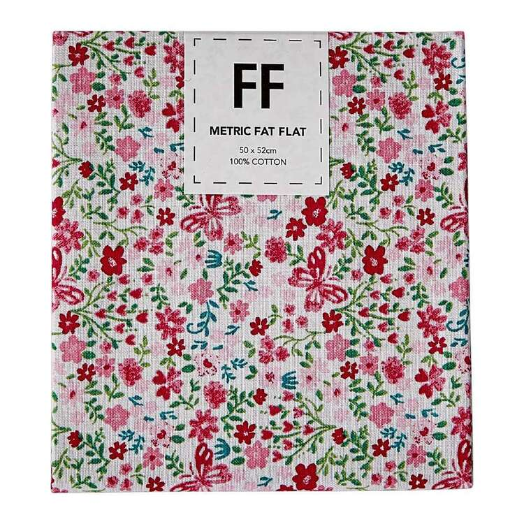 Never Forget Floral Flat Fat
