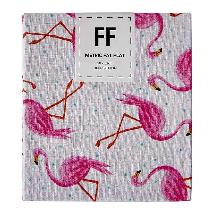Flamingo Garden Flamingos Flat Fat