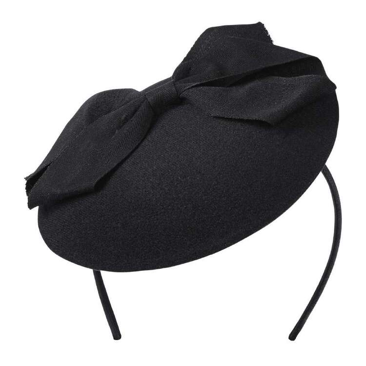 Maria George Sinamay Bow Contoured Hat Headband