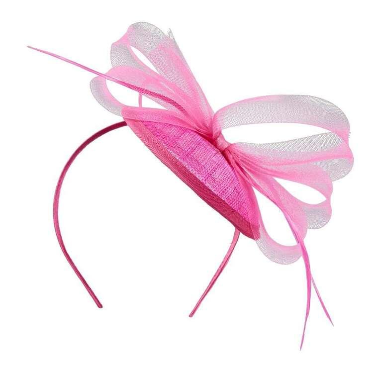 Maria George Sinamay Side Plate Headband