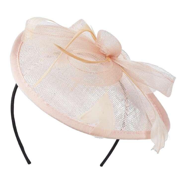 Maria George Sinamay Feather Headband